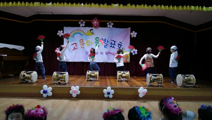 20151204 고운마음발표회 14.예쁜반 - 장구